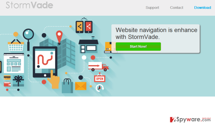 StormVade Ads and StormVade Deals snapshot