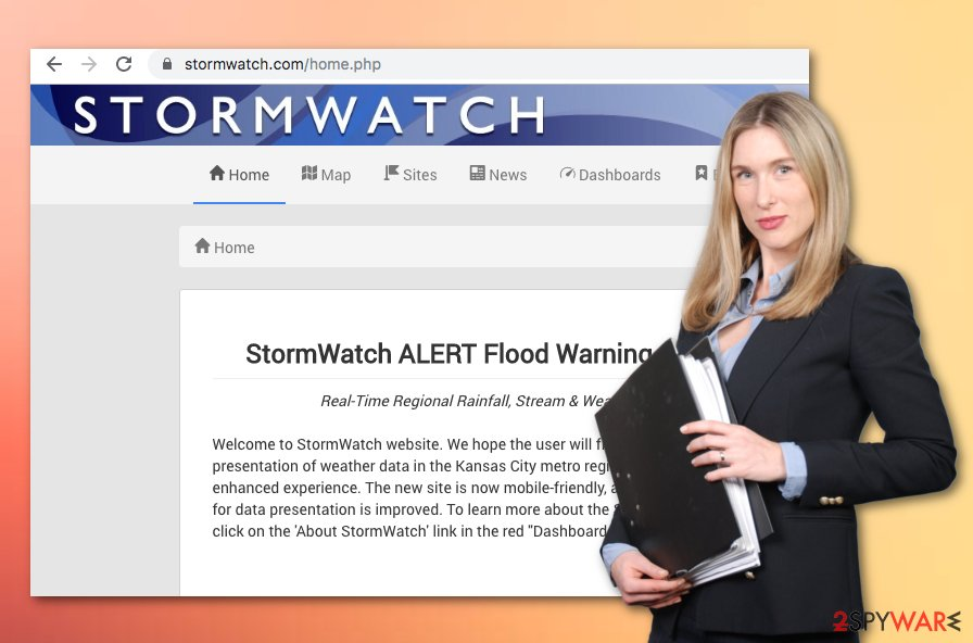 StormWatch virus