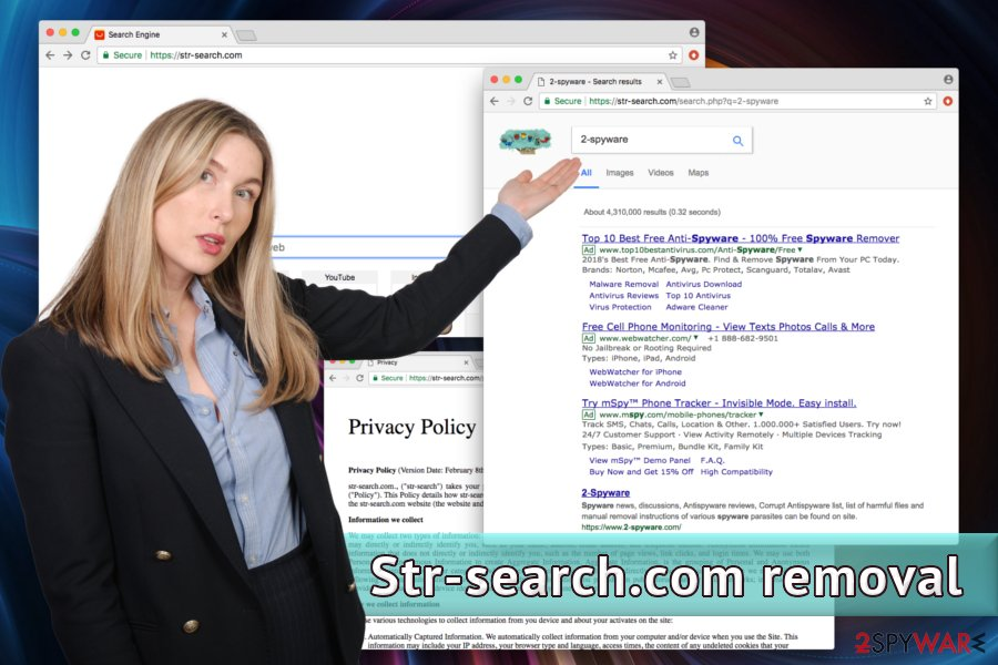 Str-search.com browser hijacker