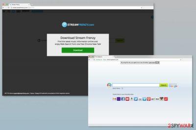 StreamFrenzy.com virus