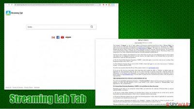 Streaming Lab Tab