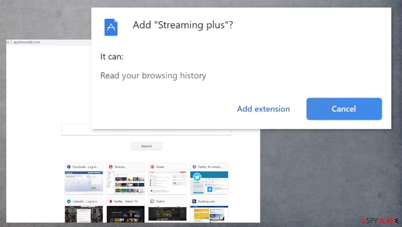 Streaming plus virus