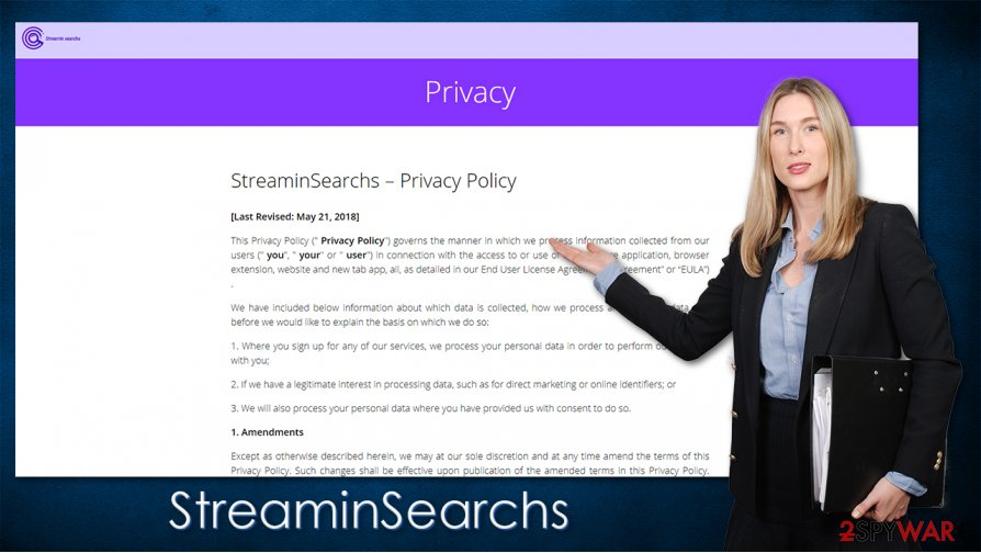StreaminSearchs hijack