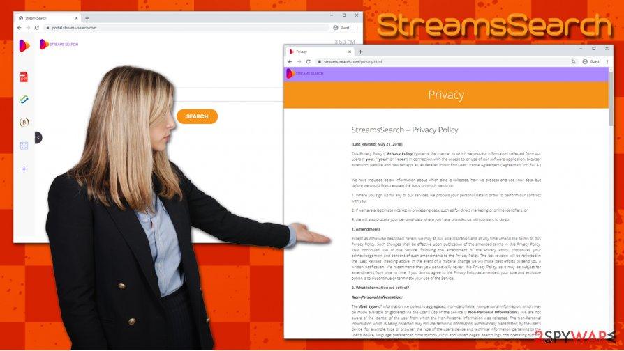 StreamsSearch hijack