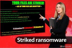 Striked ransomware virus