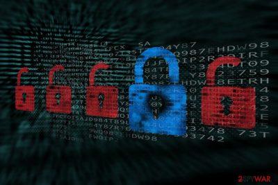 Image of Stroman ransomware virus