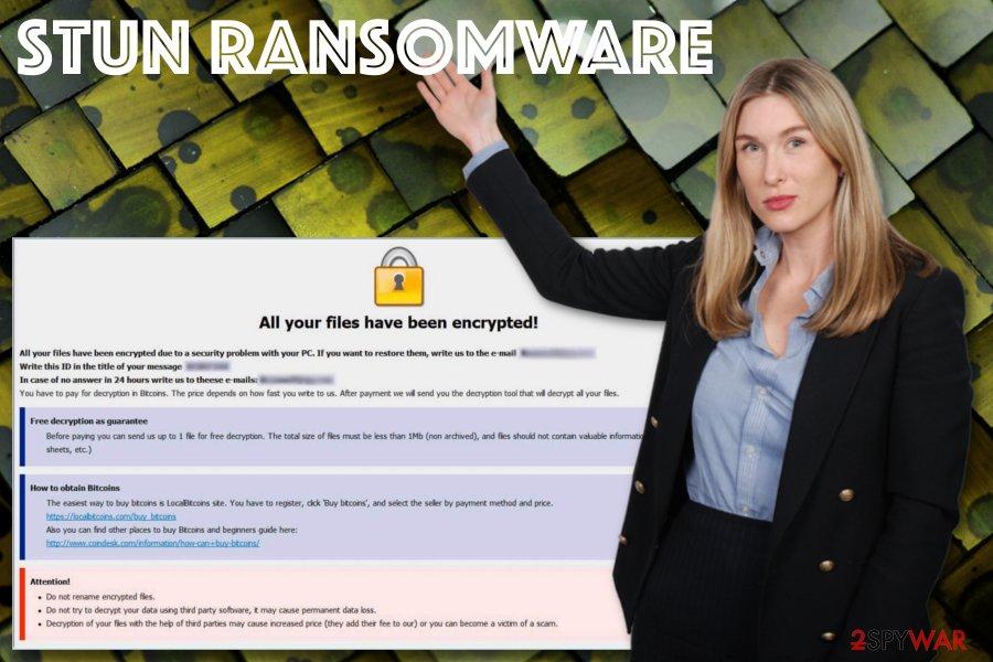 Stun ransomware virus