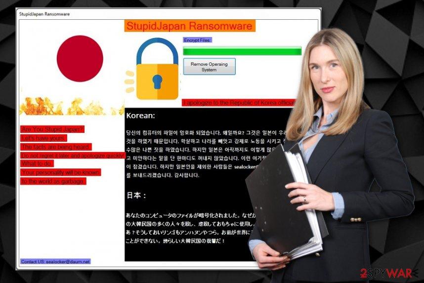 StupidJapan ransomware