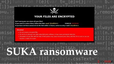 SUKA ransomware