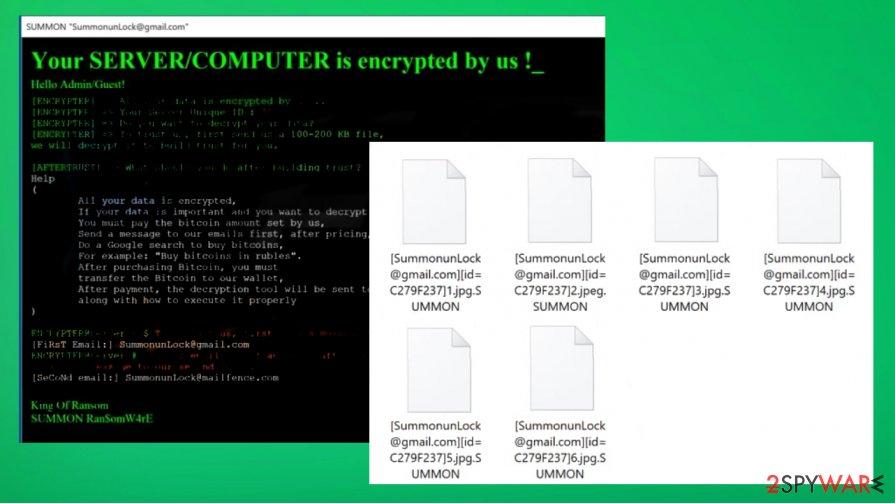 SUMMON file virus