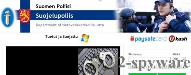 Suomen Poliisi virus snapshot