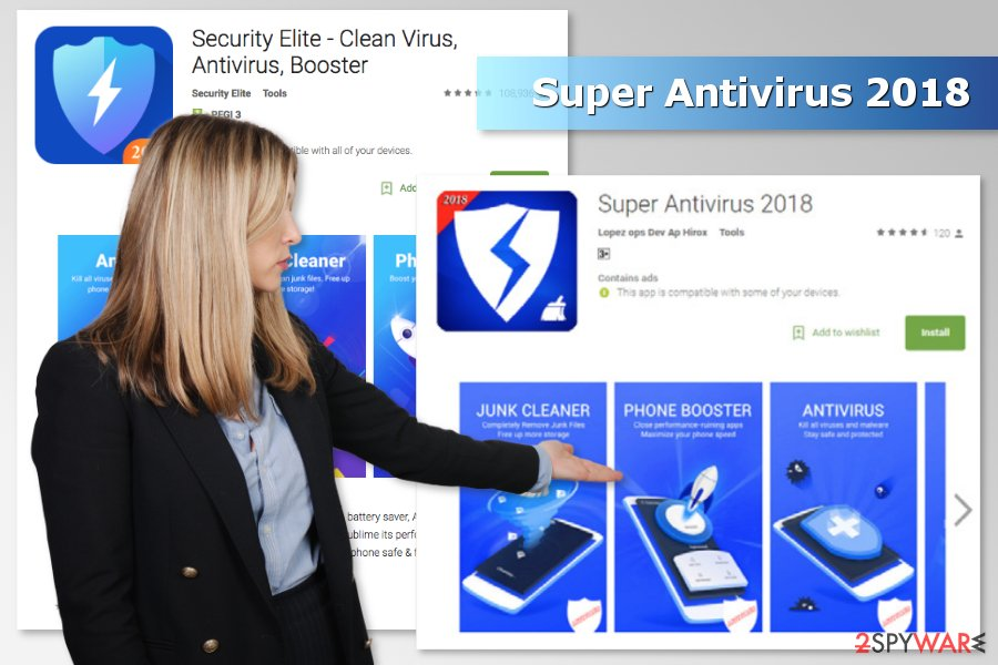 Image of Super Antivirus 2018 malware