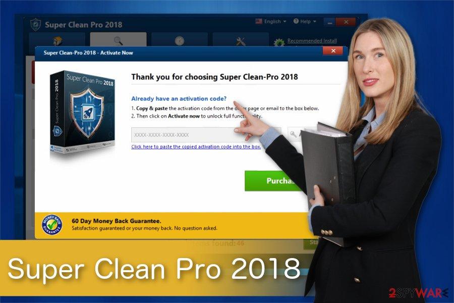 Super Clean Pro 2018 illustration