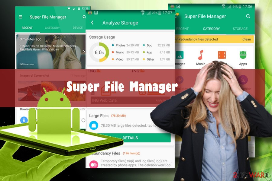 Super File Manager virus evades removal. Capable of reinstalling itself