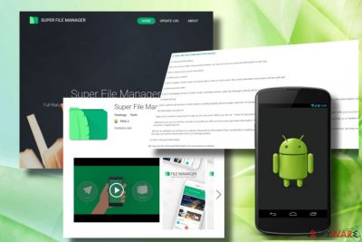 Super File Manager is dubbed as Android virus