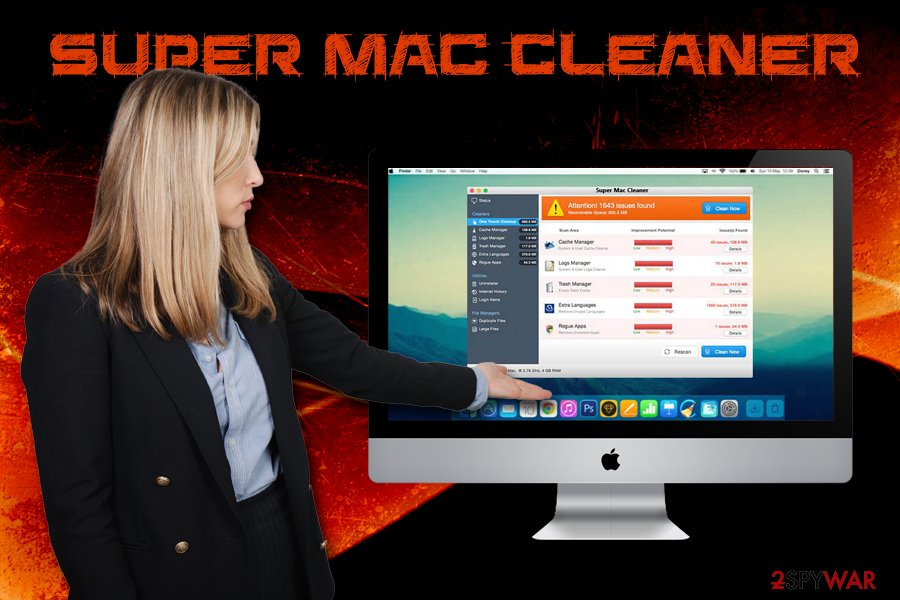 Super Mac Cleaner PUP