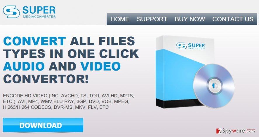 Super Media Converter virus