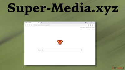 Super-Media.xyz browser hijacker