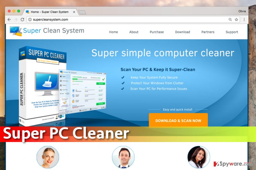 Super PC Cleaner screenshot