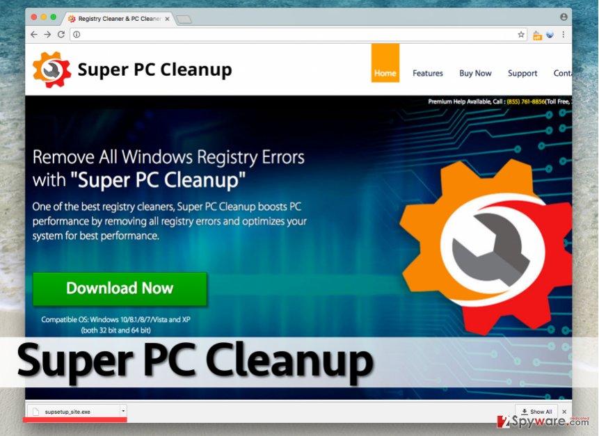 Super PC Cleanup optimizer