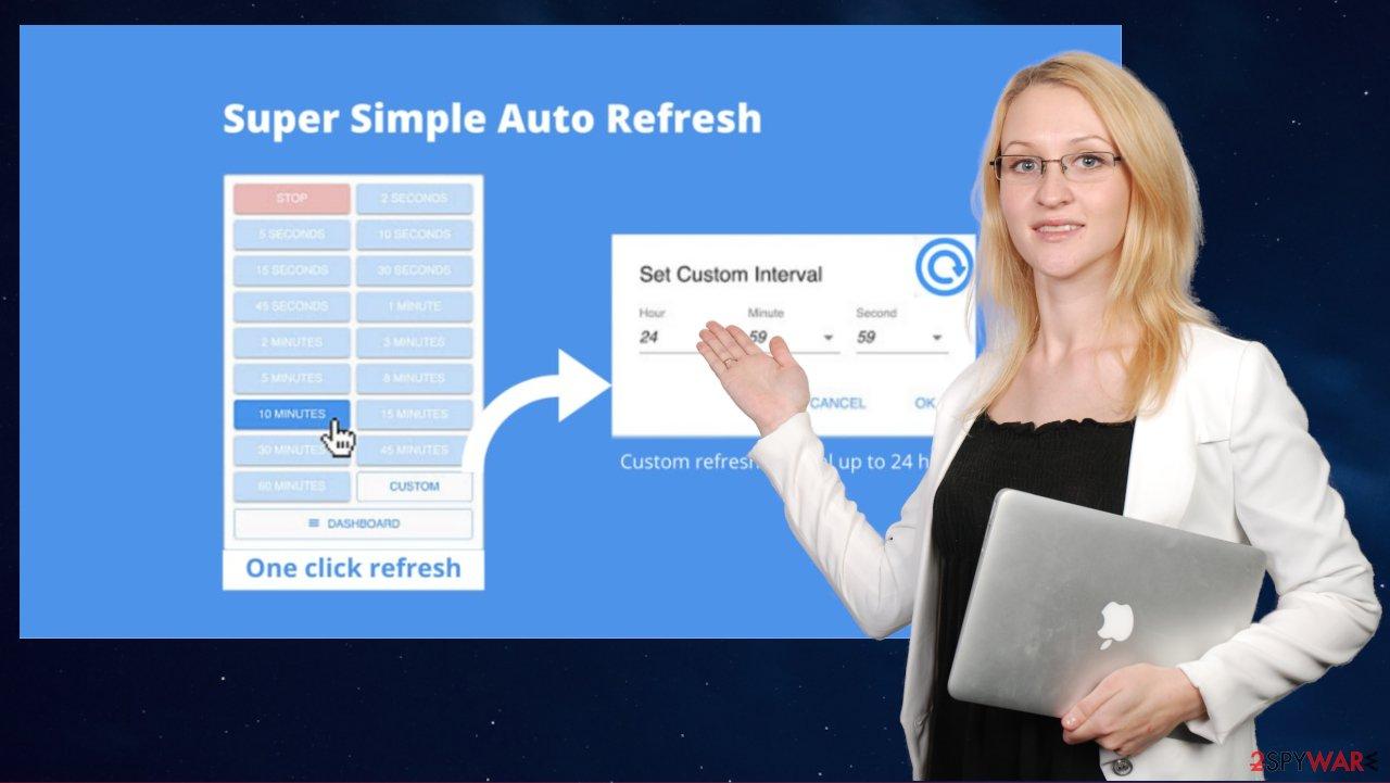 Super Simple Auto Refresh virus