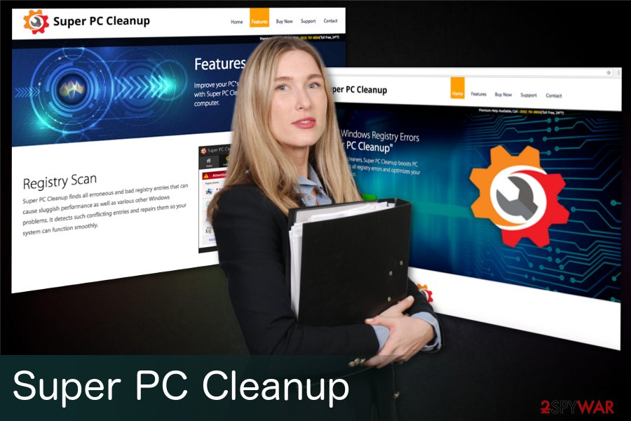 Super PC Cleanup adware