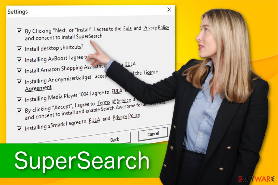 SuperSearch illustration