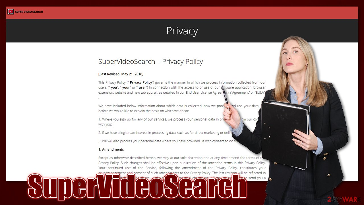 SuperVideoSearch Privacy Policy