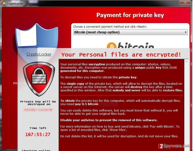 The example of Suppteam01@yandex.ru virus