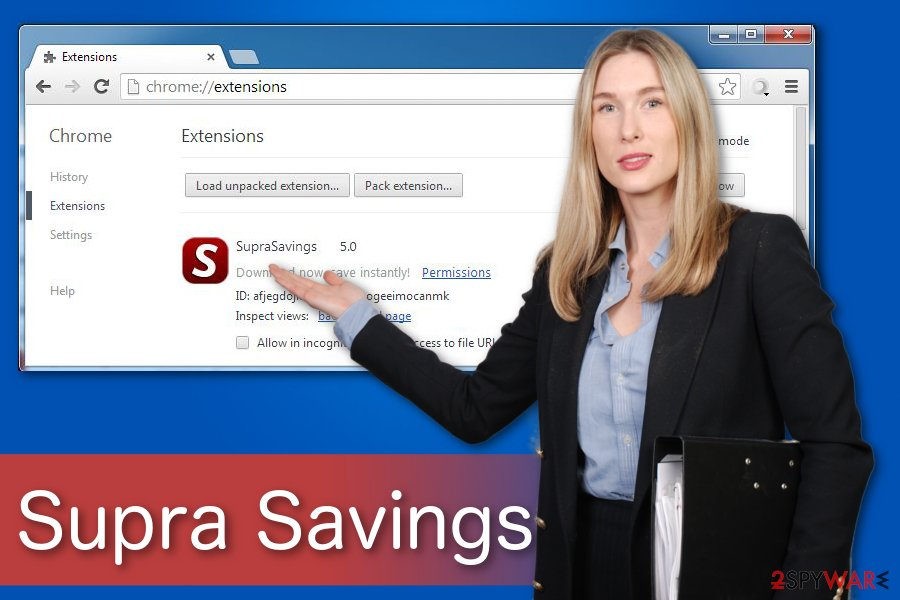 Supra Savings illustration