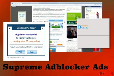 Supreme Adblocker Ads