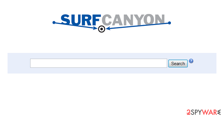 Surf Canyon snapshot