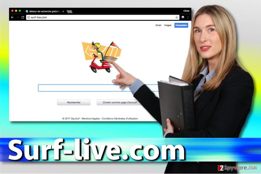 Surf-live.com hijack