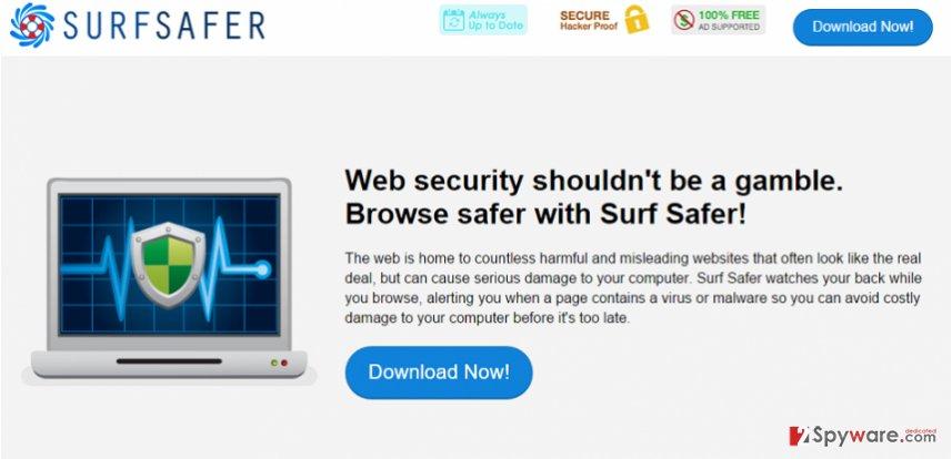 Surf Safer ads