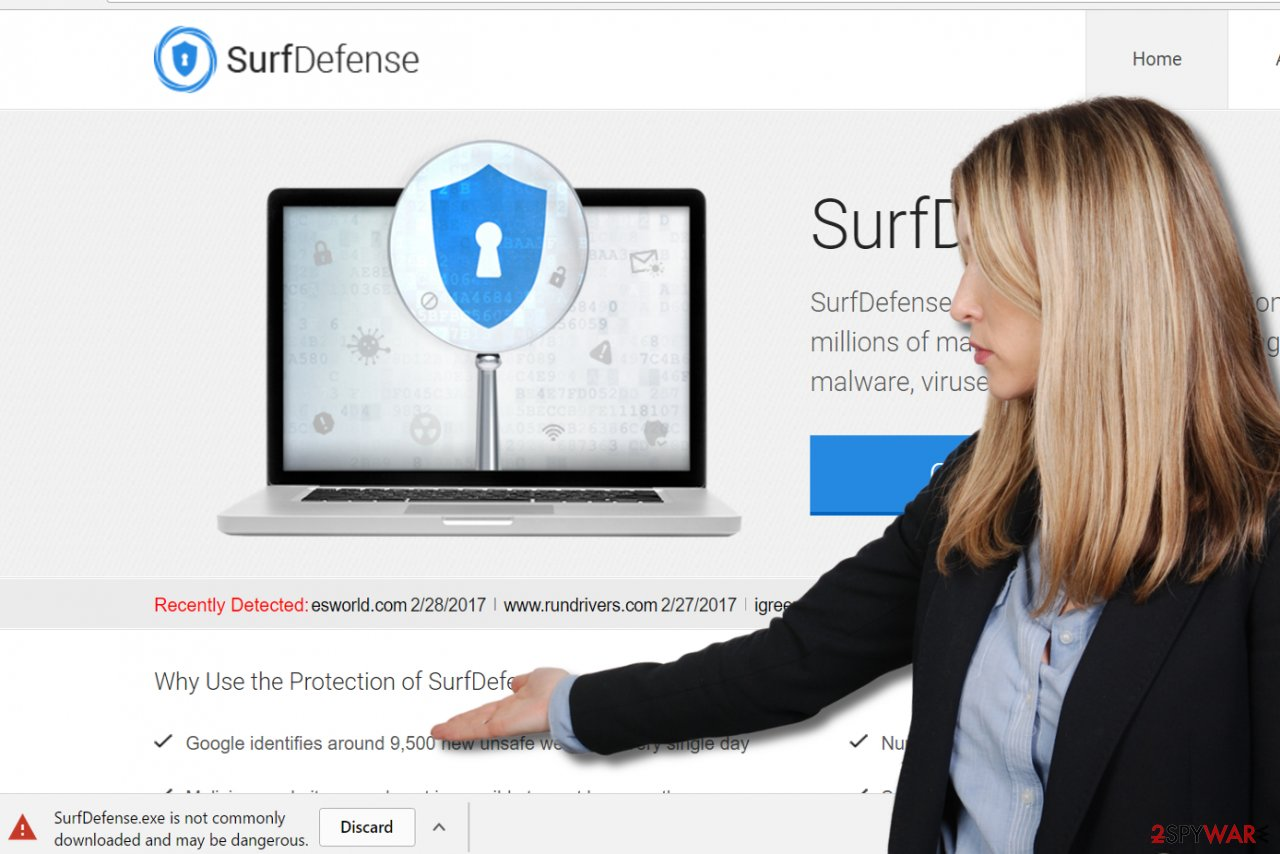 SurfDefense adware