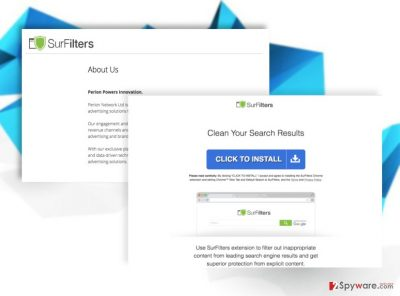 SurFilters.com virus