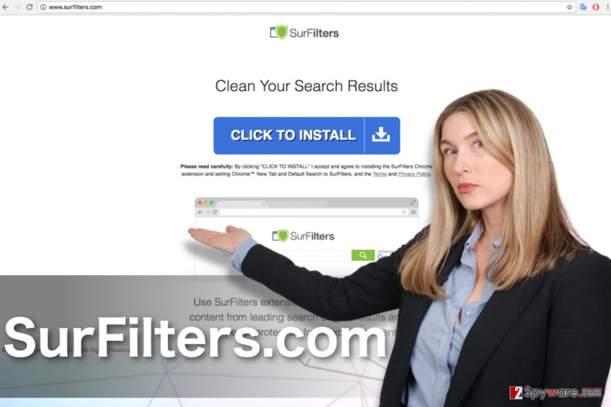 SurFilters.com virus