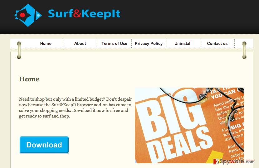 Surfkeepit virus snapshot