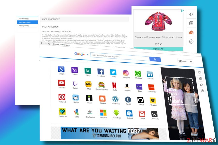 Surfnav.com is an suspicious browser hijacker