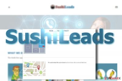 Example of SushiLeads virus