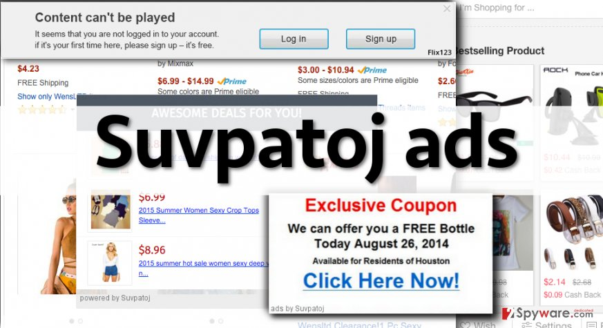 Examples of Suvpatoj ads