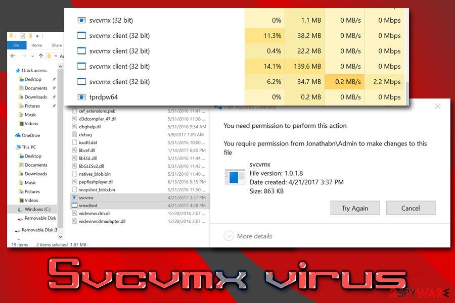 Svcvmx malware