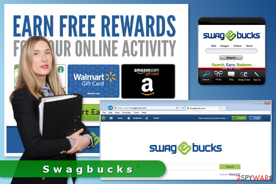 The picture of Swagbucks adware