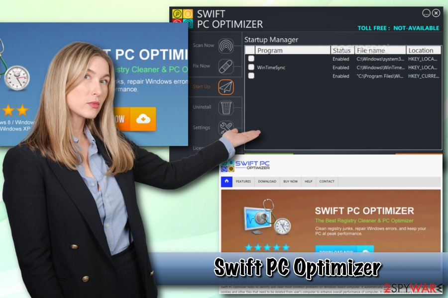 Swift PC Optimizer PUP