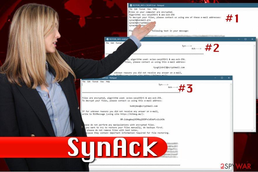 SynAck ransomware virus