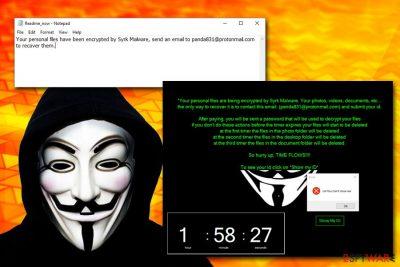 Syrk ransomware