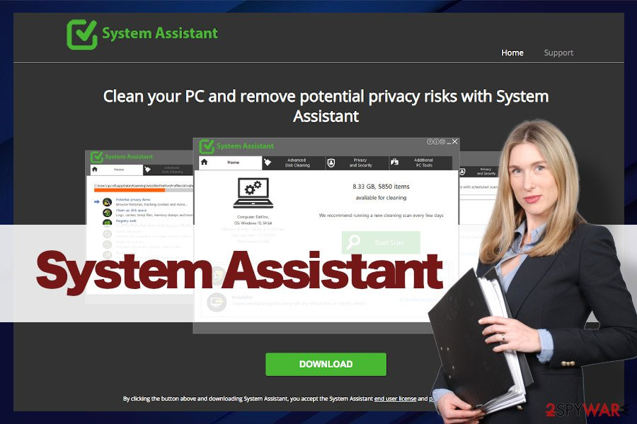 System Assistant malware