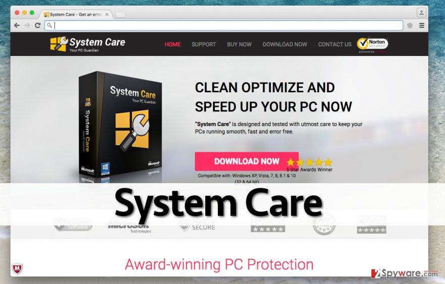 System Care website