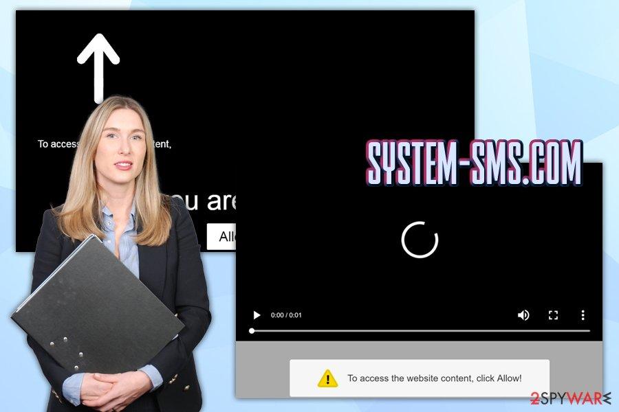 System-sms.com adware