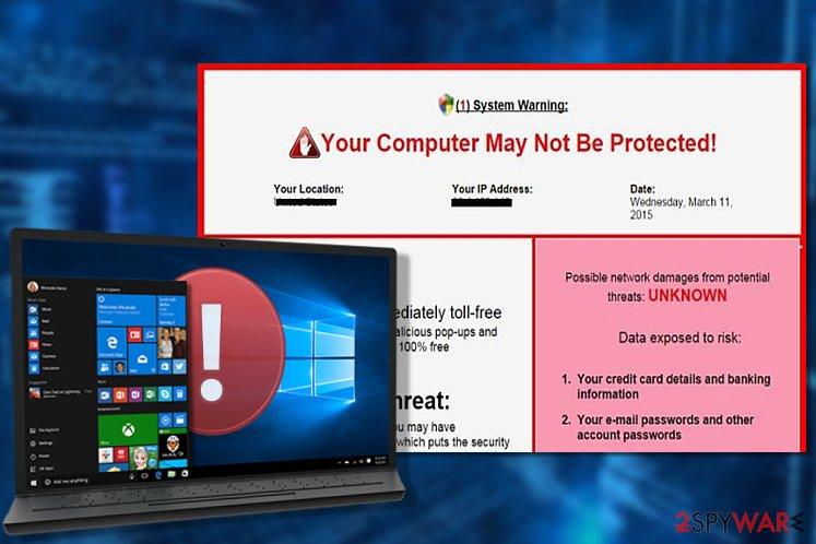 System Warning virus